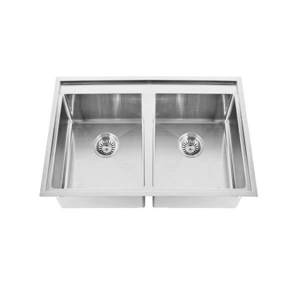 Tech 200ND - Stainless Steel Inset Sink No Drainer