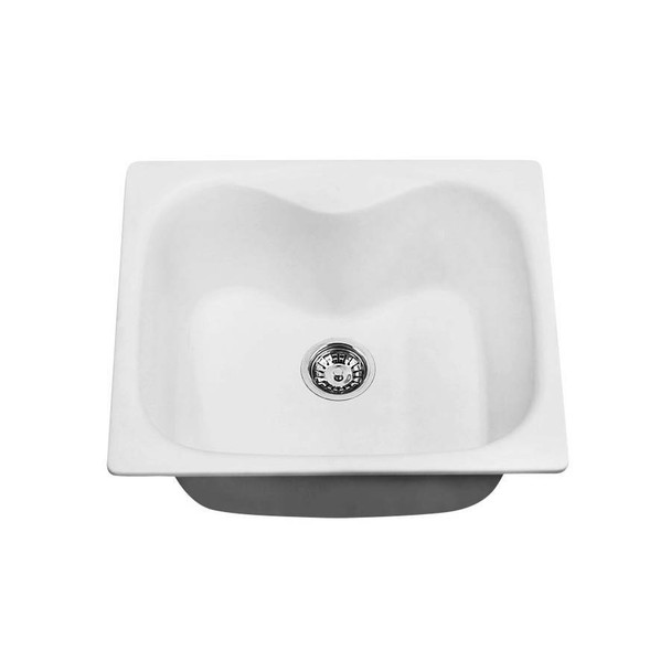 Korona - White Granite Laundry Trough