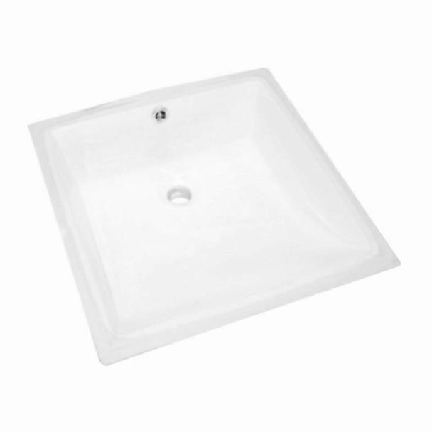 Cube - White Undermount Basin