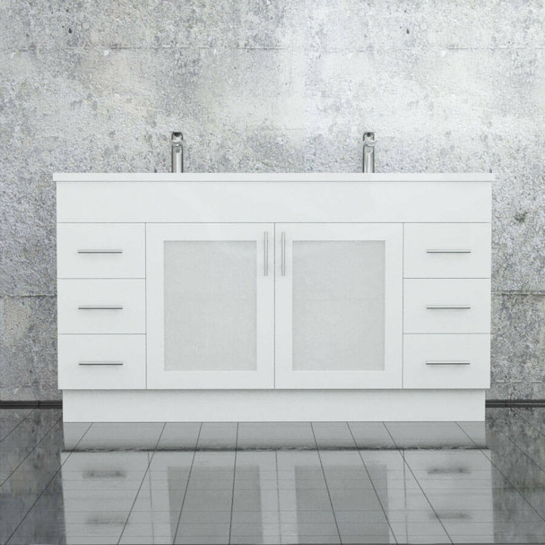 Cube - Floor Mounted Vanity and Top 1500mm