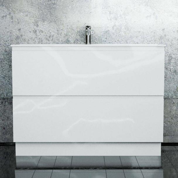 Newport - Floor Mounted Vanity and Top 1200mm 2 Drawers