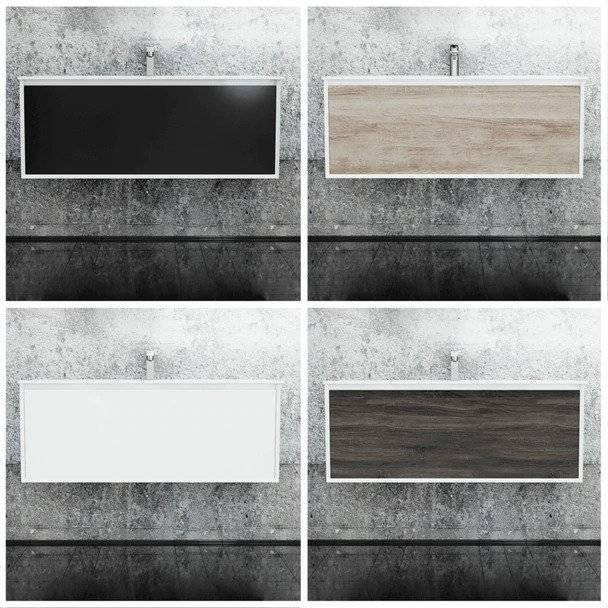 Fineline - Wall Hung Vanity Only 1200mm