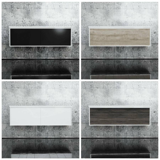 Fineline - Wall Hung Vanity Only 1500mm