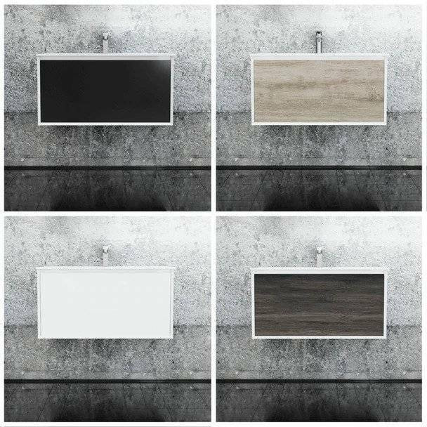 Fineline - Wall Hung Vanity Only 900mm