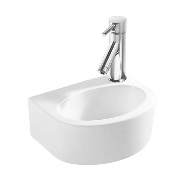 Mini - White Wall Hung Basin
