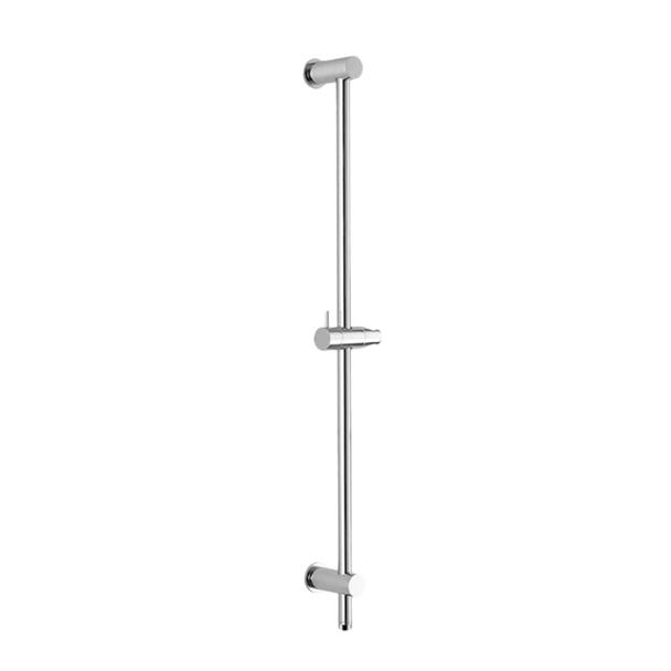 Amber - Chrome Shower Rail Set