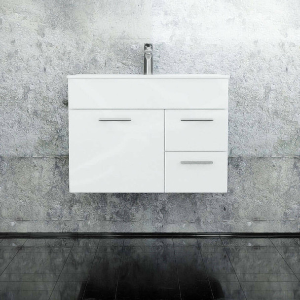 Classic - Wall Hung Vanity Only 750mm