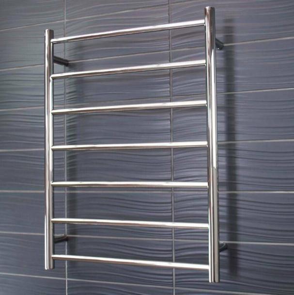 Heated Towel Rail - Round 7 Bar 600x800mm