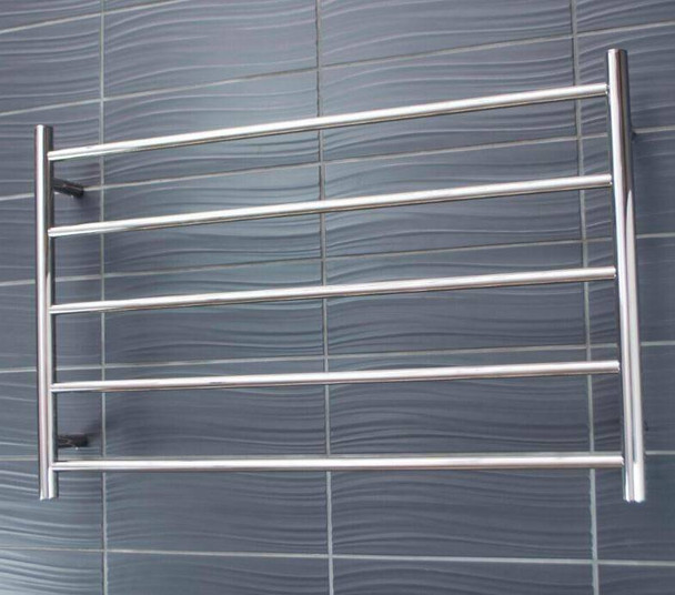 Heated Towel Rail - Round 5 Bar 950x600mm