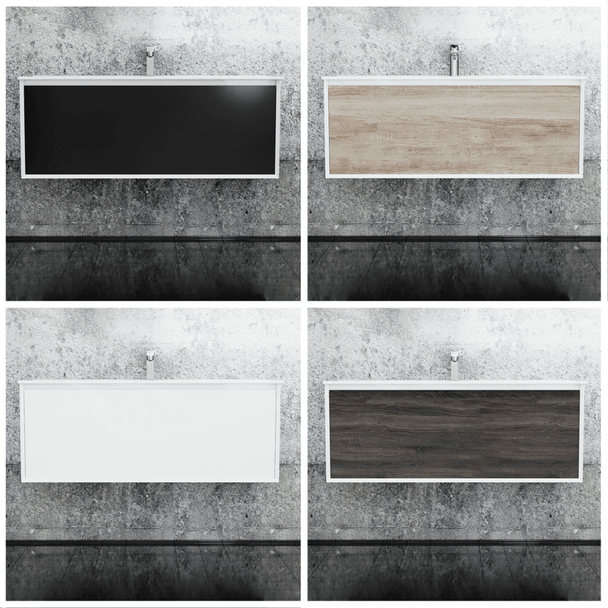 Fineline - Wall Hung Vanity and Top 1200mm