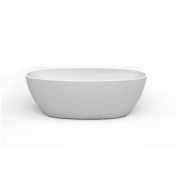 Ava - White Freestanding Bath 1500mm