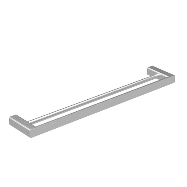 Fiona - Brushed Nickel Double Towel Rail 800mm