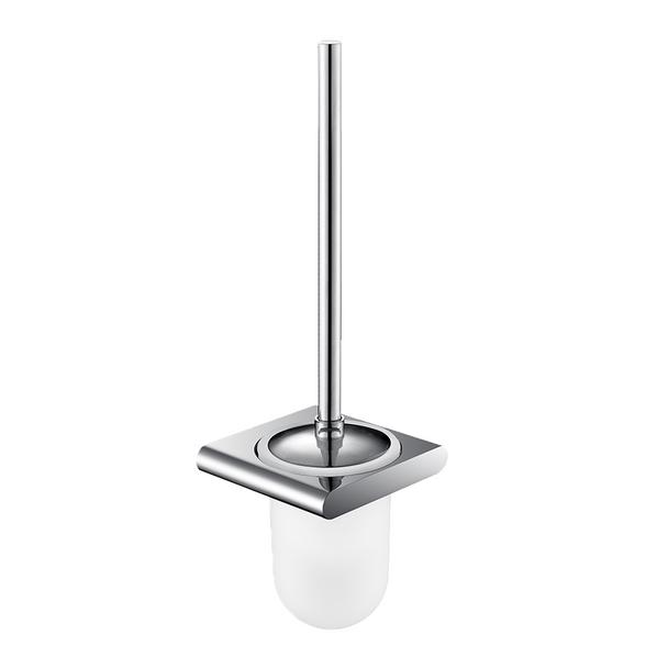 Style - Chrome Toilet Brush and Holder