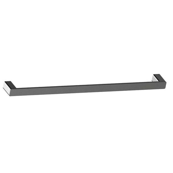 Fiona - Gun Metal Single Towel Rail 600mm