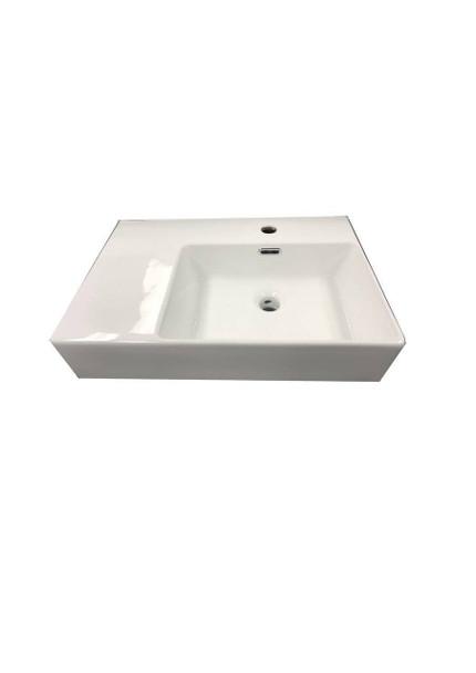 Flay - White Wall Hung Basin