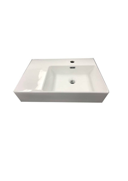 Flay - White Wall Hung Basin