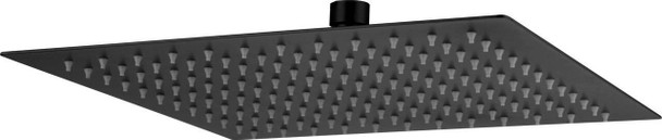 Silas - Black Stainless Steel Shower Head 250mm