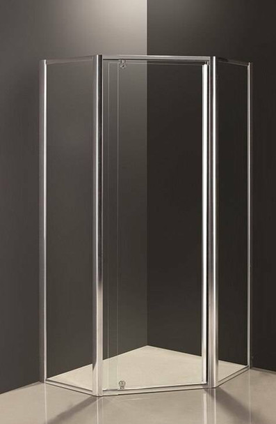 Angled Shower Screen