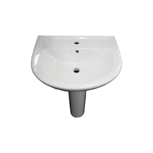 Pedestal - White Basin