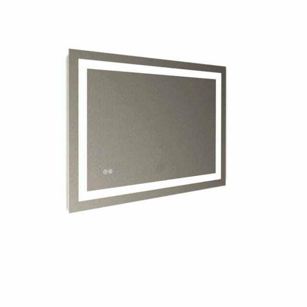 LED Mirror Rectangular Sensor Reversible 900mm