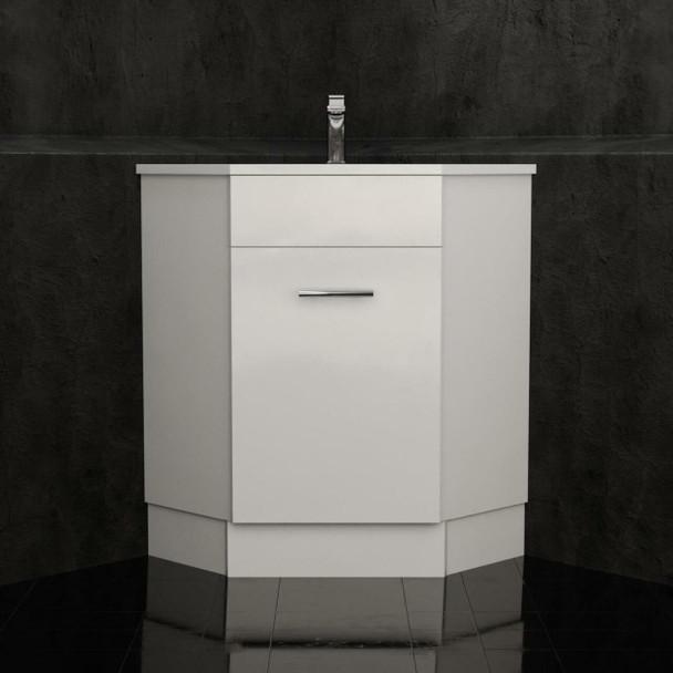 Classic - Corner Vanity and Top 600mm x 600mm