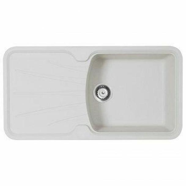 Korona 100 - White Granite Laundry Trough