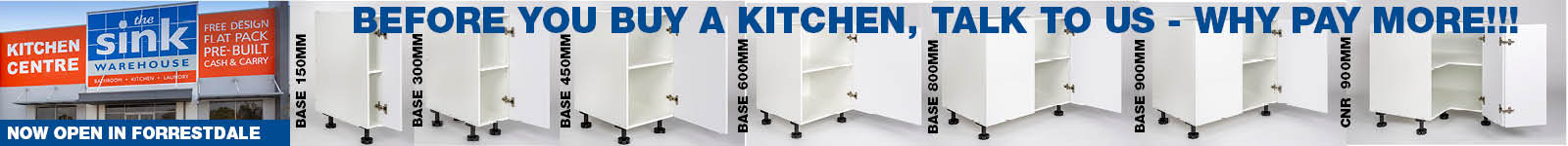 Kitchens Designed and Installed or DIY including Flat Packed Kitchens