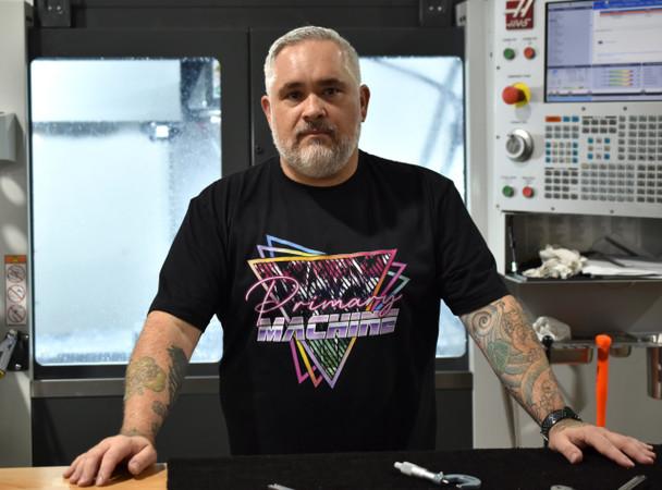 Primary Machine Retro T Shirt