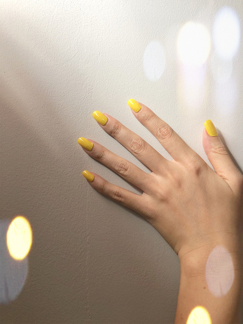 Glossy Up You Nail Wraps Non Toxic & Stylish Nail Wraps for the Woman on the Go | Solid Giallo