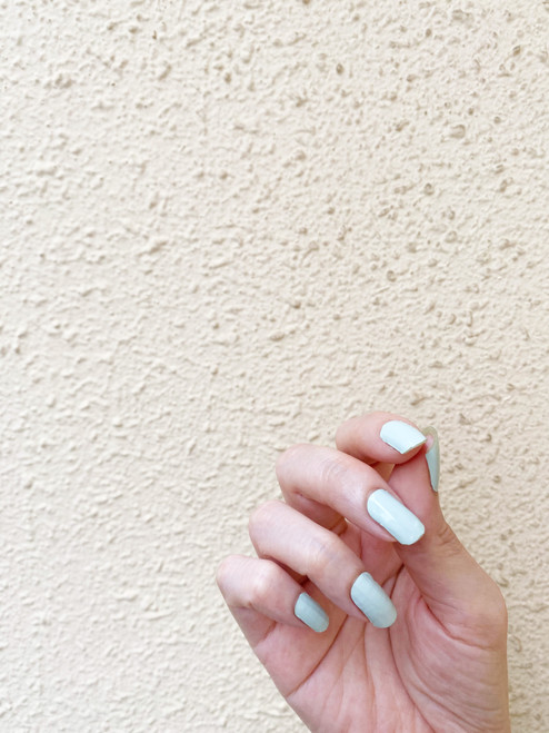Glossy Up Solid Mint Nail Wraps