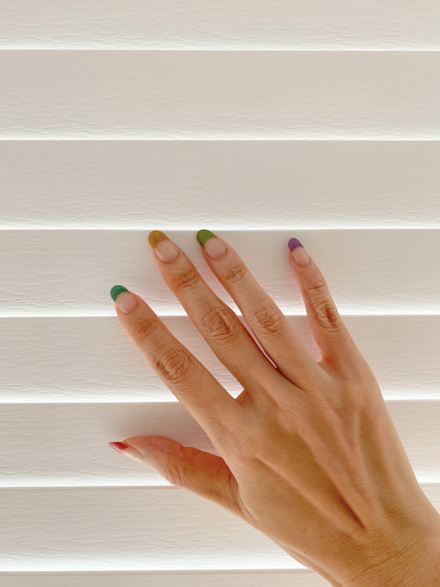 Glossy Up Skittles Joy Nail Wraps