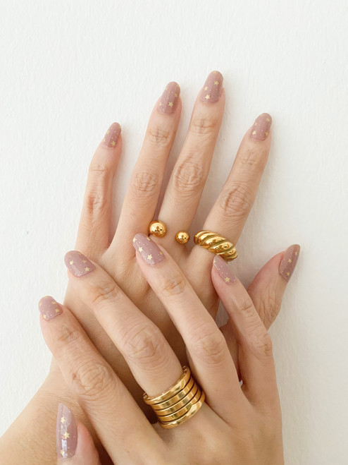 Glossy Up You Nail Wraps Non Toxic & Stylish Nail Wraps for the Woman on the Go | Sprinkling of Stars