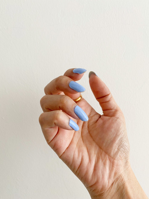 Glossy Up You Nail Wraps Non Toxic & Stylish Nail Wraps for the Woman on the Go | Powder Blue