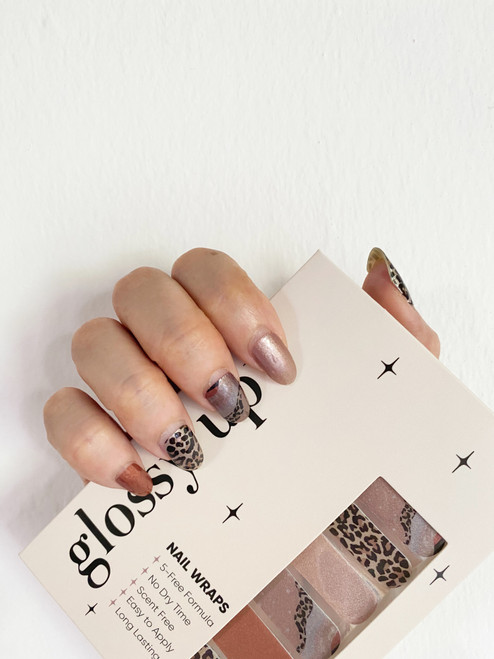 Glossy Up A Walk on The Wild Side Nail Wraps