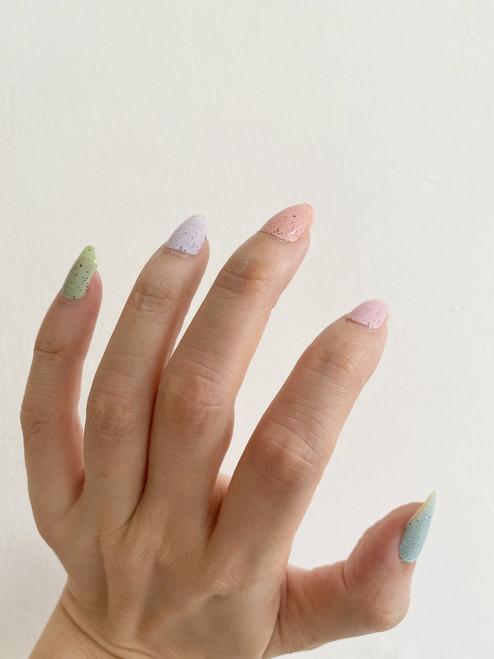 Glossy Up Pastel Rainbow Nail Wraps