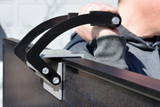 Solar Panel Caddy Distributes Pressure through Solar Panel Frame