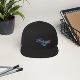 Solar Tools USA custom logo flat bill ballcap