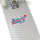 solar tools usa sticker on skateboard transparent background
