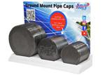 Pipe Cap Display Side View