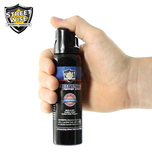 Lab Certified Streetwise 18 Pepper Spray 4 oz. Twist Lock