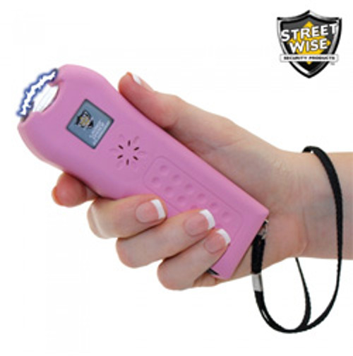 Streetwise Ladies' Choice 21000000 Stun Gun Pink in Hand