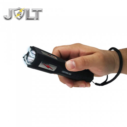 Jolt Lightning Rod 90,000,000* Stun Flashlight in Hand