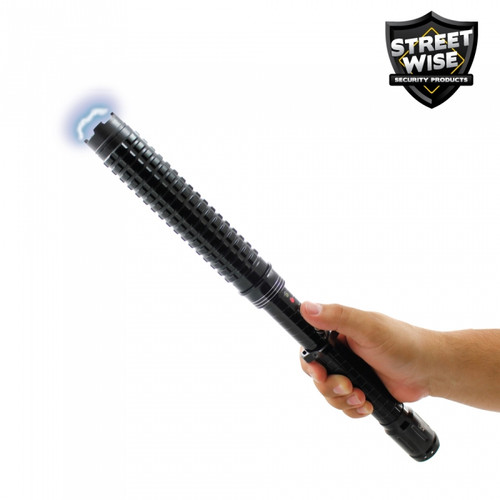 Streetwise Attitude Adjuster 30,000,000 Stun Baton Flashlight In Hand