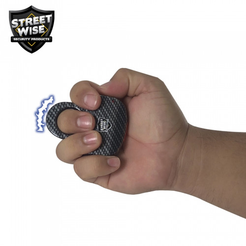 Streetwise Sting Ring 18,000,000 HD Stun in hand