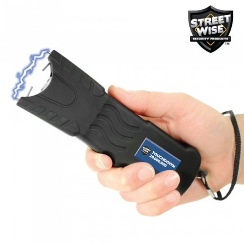 Touchdown Stun Gun Rechargeable in hand