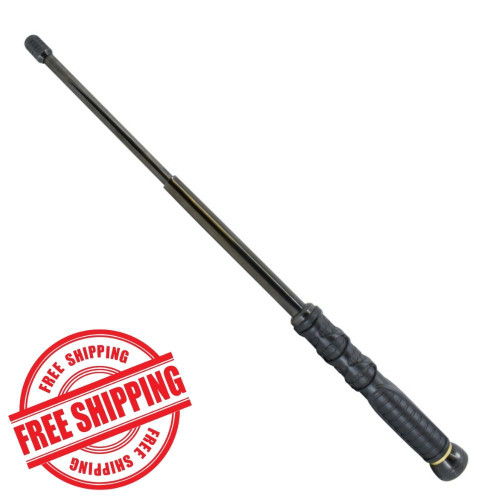 "Streetwise Dark Knight 21"" Expandable Steel Baton from DefenseShopper.com"