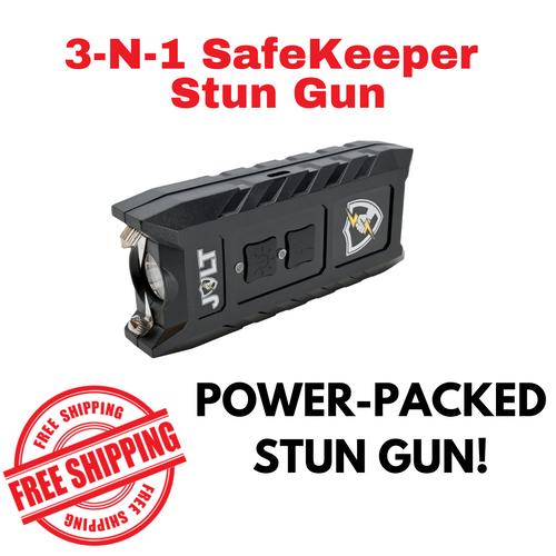 3-N-1 SafeKeeper Stun Gun Side