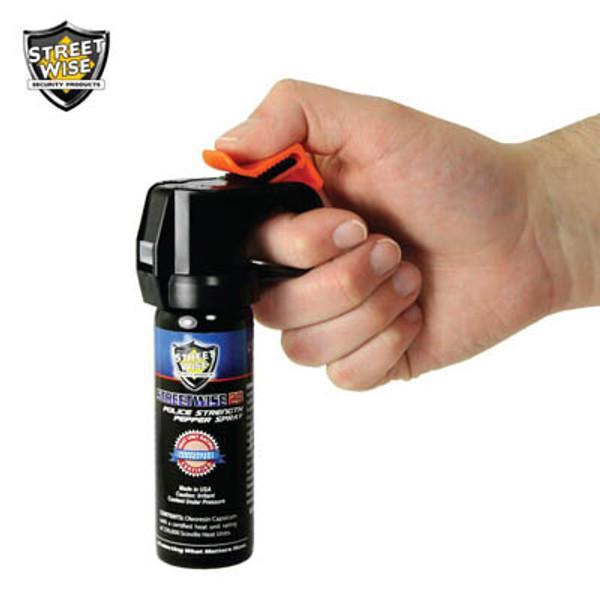 Police Strength Streetwise 23 Pepper Spray 3 oz FIRE MASTER