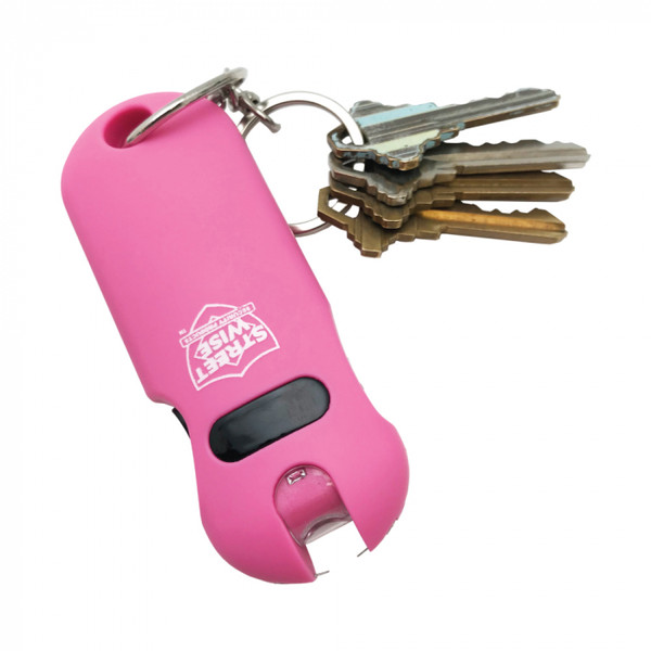 SMART 24,000,000 Keychain Stun Gun Pink