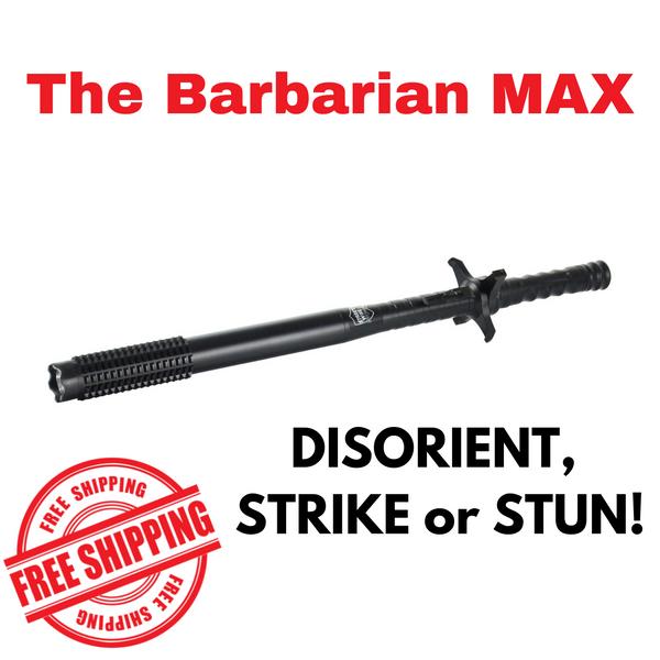 Barbarian MAX Stun Baton Flashlight MAIN